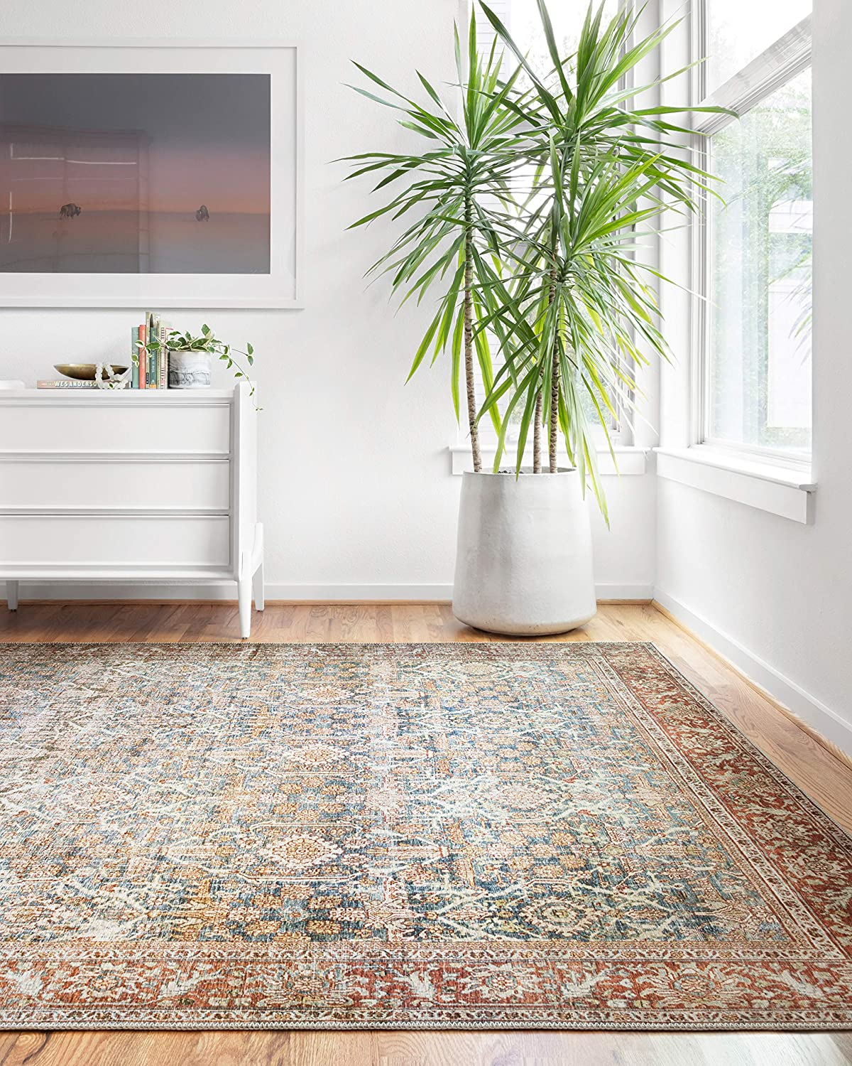 Loloi ll Layla Collection Area Rug, 3'-6