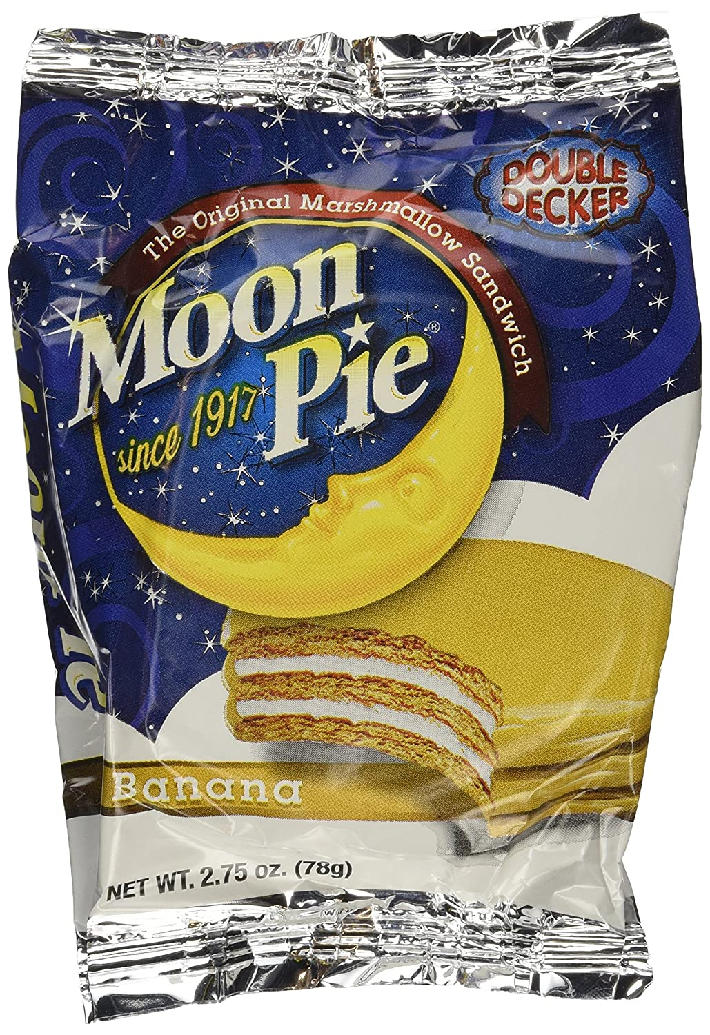 Moon Pie Mini Variety Pack Count Box Ounces Amazoncom - Banana mood 27 yellow dipped room designs