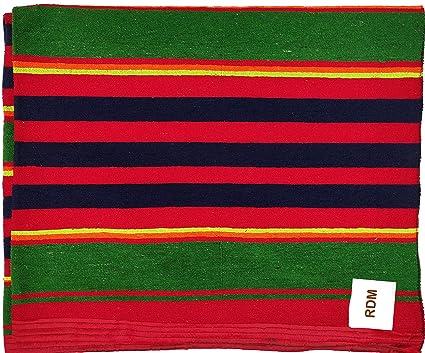 RDM Kids Cotton Reversible Dari Mat Carpet / Multipurpose Galicha Rug for a Single Bed-4 x 7 ft