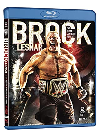 WWE Brock Lesnar Eat Sleep Conquer Repeat Blu