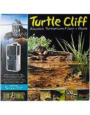 Exoterra Rocher Filtrant Turtle Cliff Moyen Modèle pour Reptiles et Amphibiens