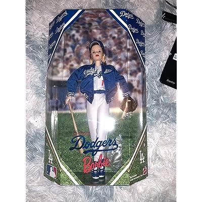 Los Angeles Dodgers Barbie: Toys & Games [5Bkhe1801772]