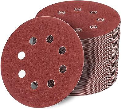 Schleifscheiben 125mm Klett Exzenter Schleifpapier Schleifblätter P40-2000