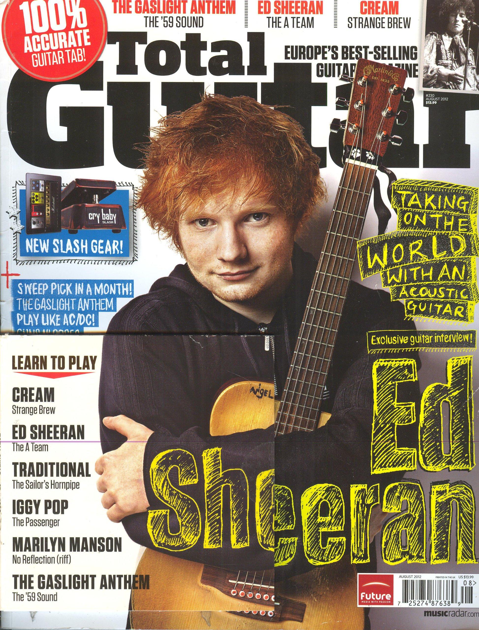 Download Total Guitar (August 2012, # 230) pdf epub