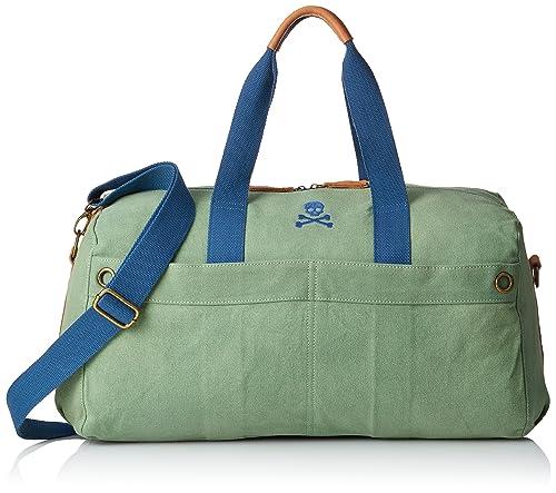 Scalpers, Skull Bag - Bolsa para hombre, color verde, talla ...
