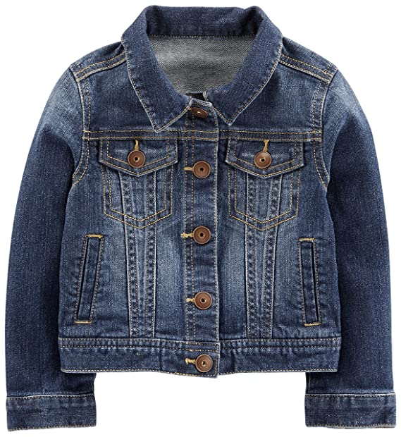 f4a5978ea Amazon.com  Simple Joys by Carter s Baby and Toddler Girls  Denim ...