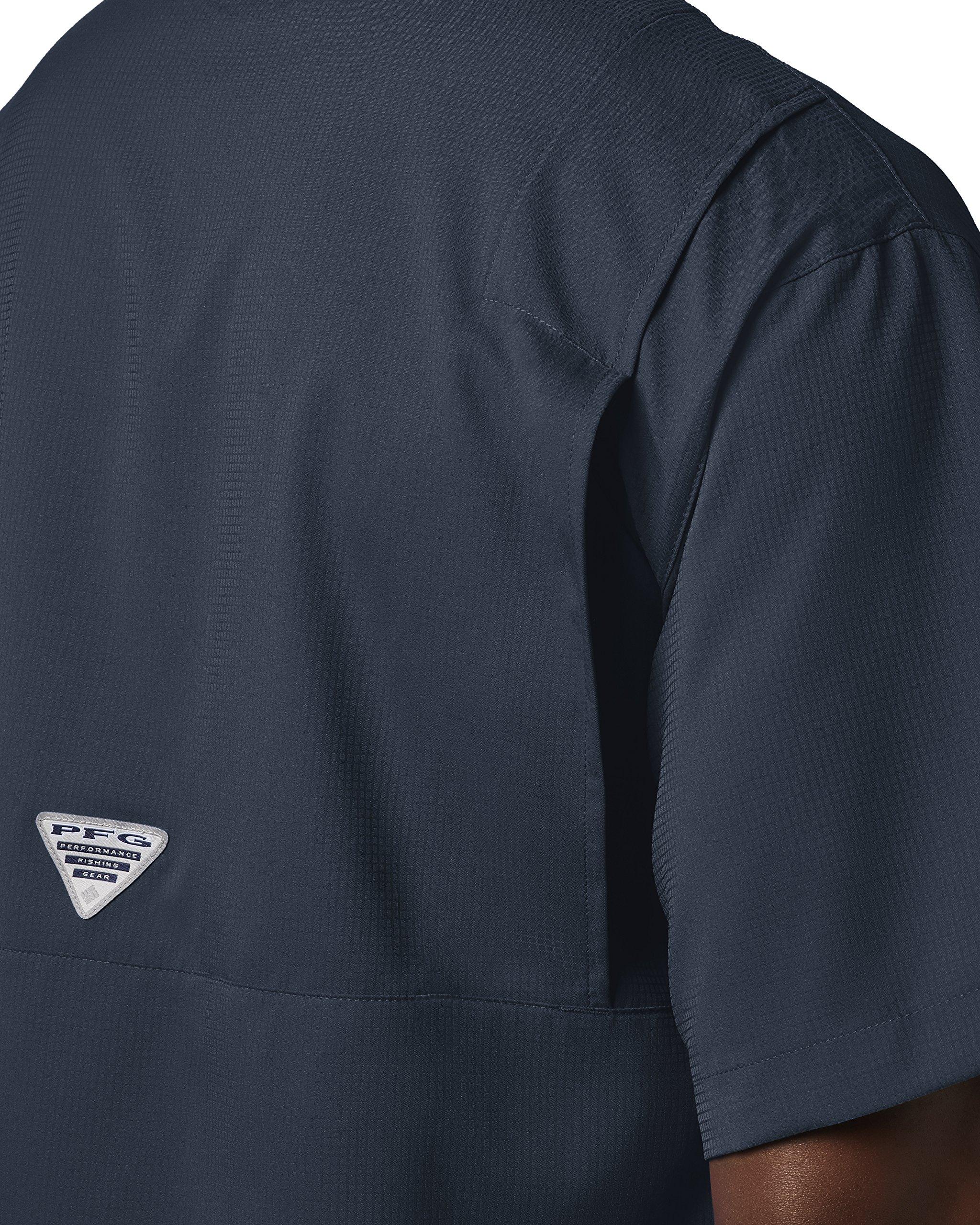 Columbia Men's Tamiami II Short Sleeve Fishing Shirt, Collegiate Navy, X-Small by Columbia (Image #5)
