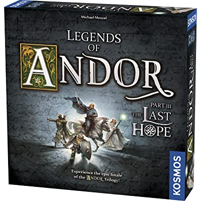 Legends of Andor - Part III the Last Hope Board Game: Toys & Games