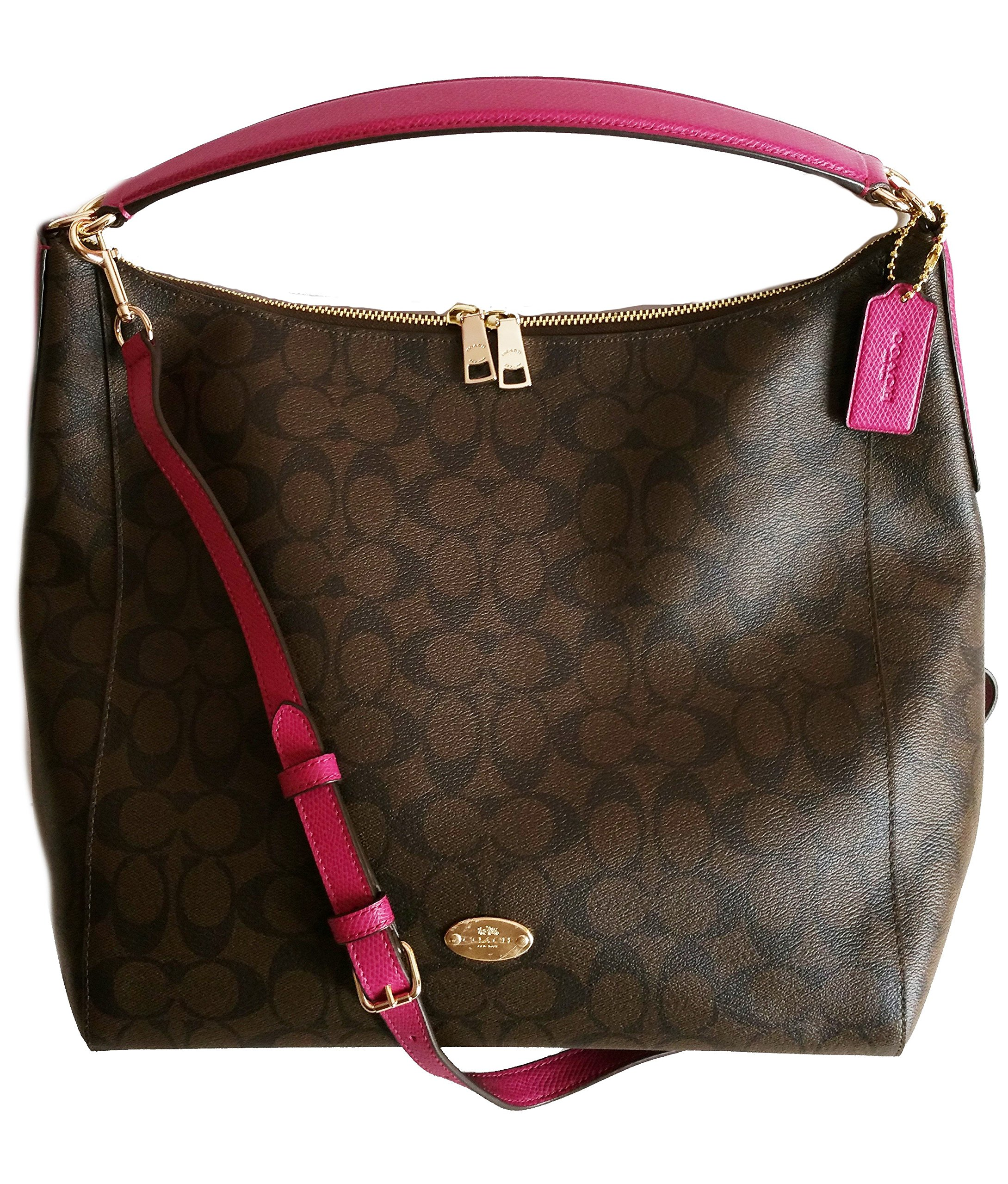 COACH Celeste Signature Convertible Hobo by Coach
