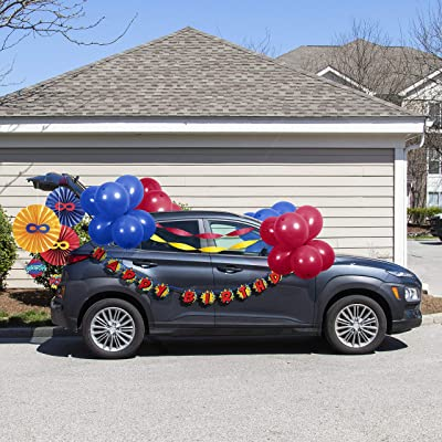 Superhero Birthday Parade Car Decorations Kit: Toys & Games