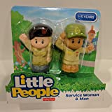 Fisher Price Little People Service Woman and Man