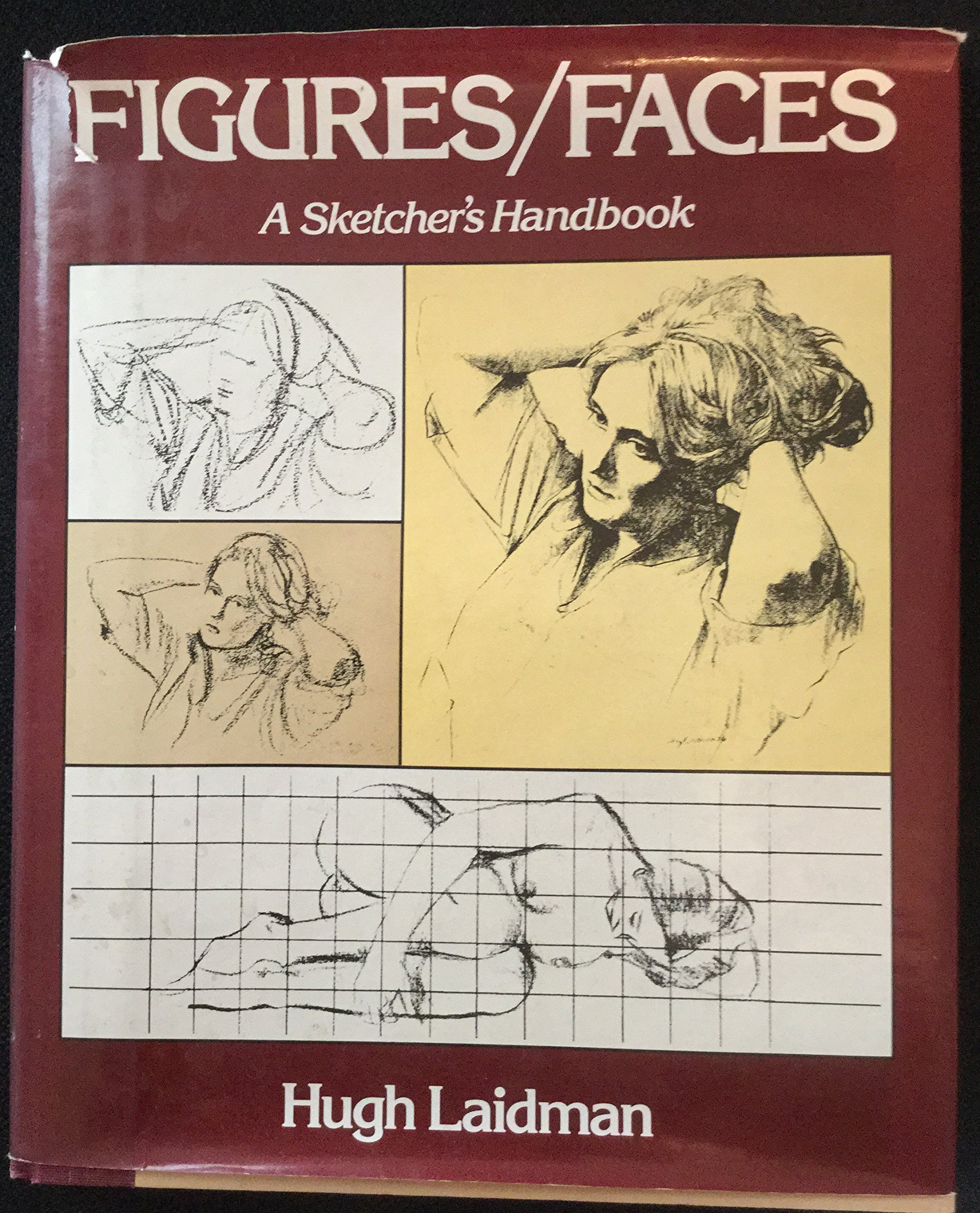 FIGURES FACES A Sketchers Handbook Hugh Laidman 0719936852798 Amazon Books
