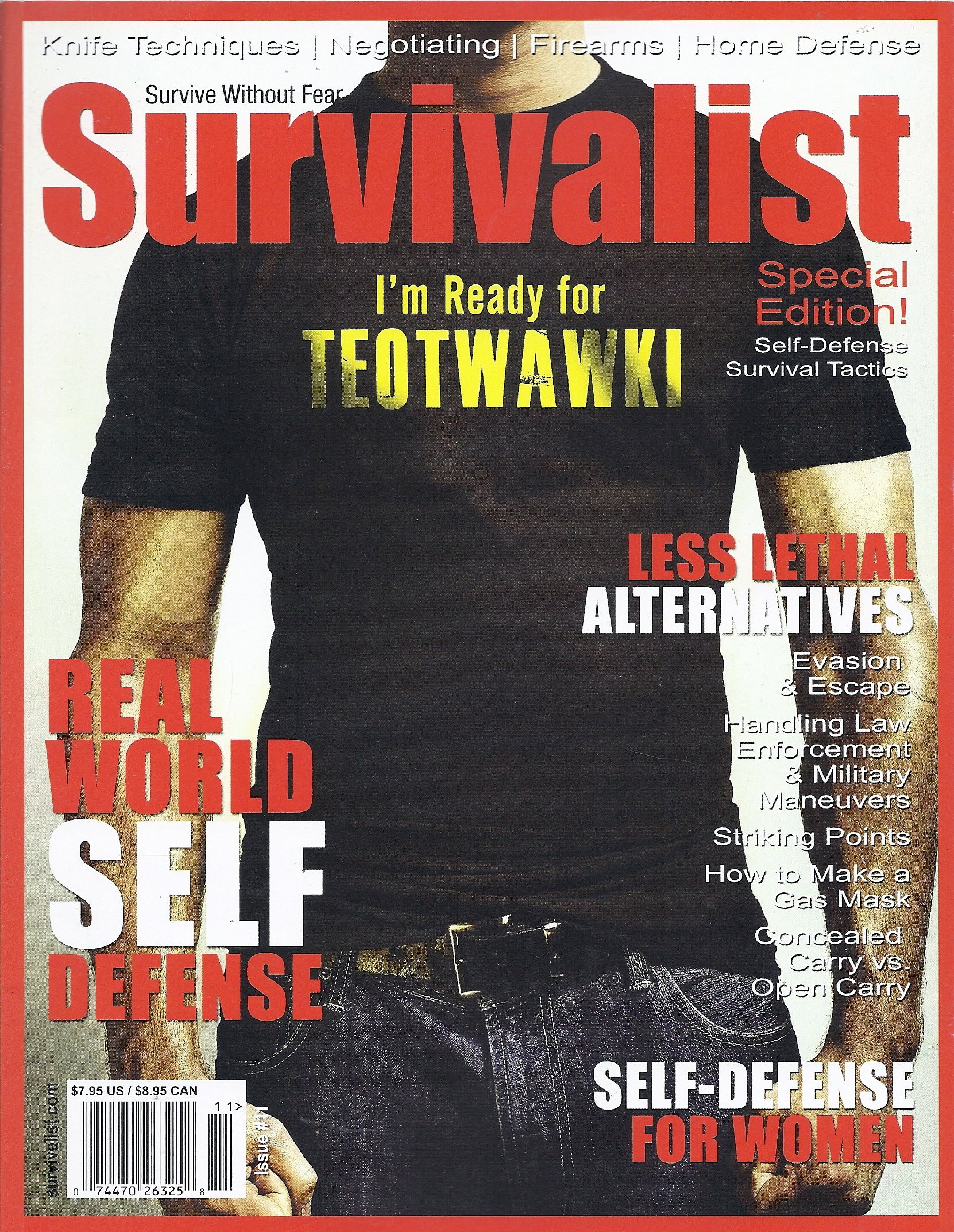Survivalist Magazine Special Edition Editors Choice