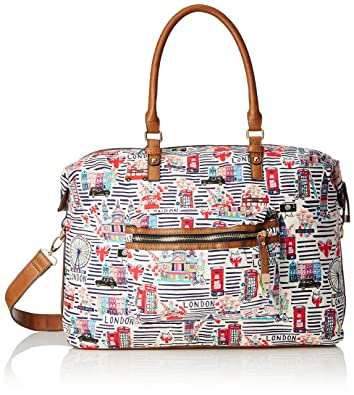Accessorize Bags Day Textile Weekender/Tote Womens (Brights-Multi)
