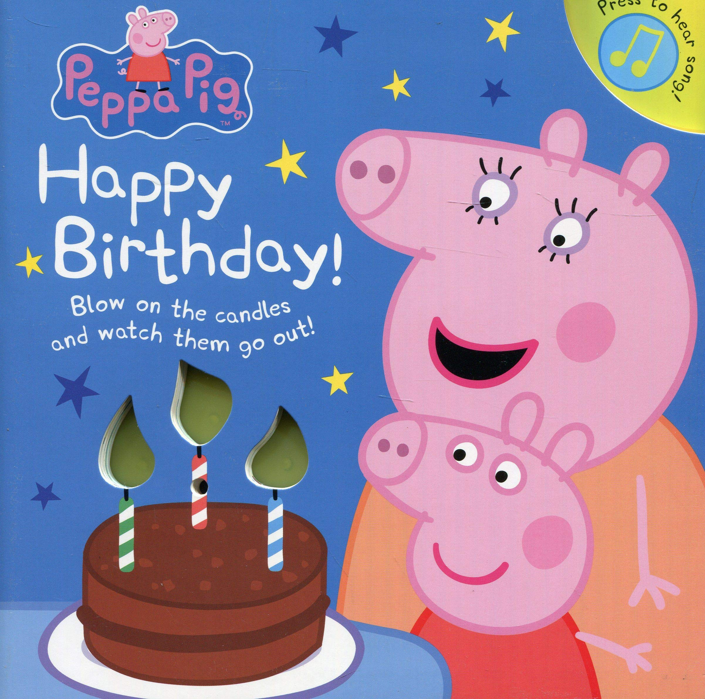 Amazonfr Peppa Pig Happy Birthday Peppa Pig Livres