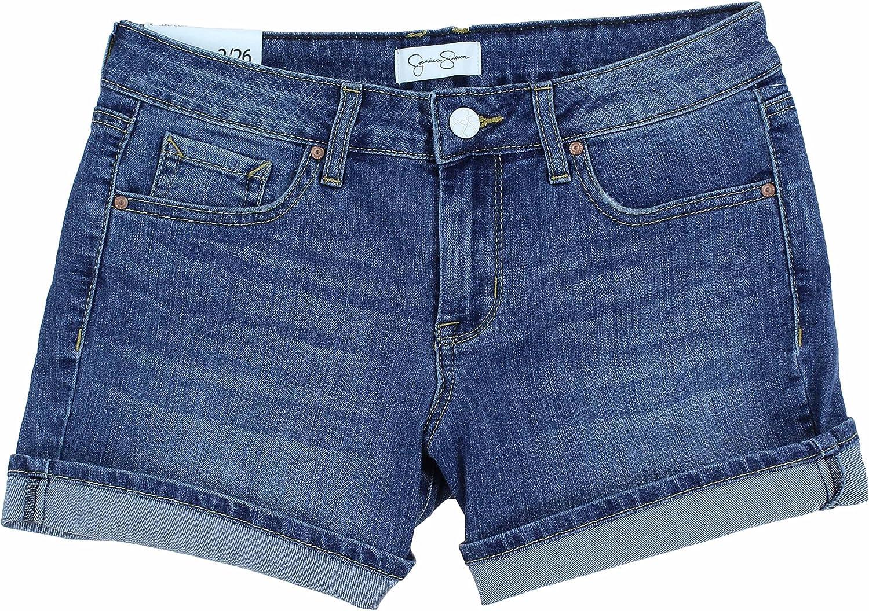 2 Jessica Simpson Womens Rolled Cuff Denim Shorts