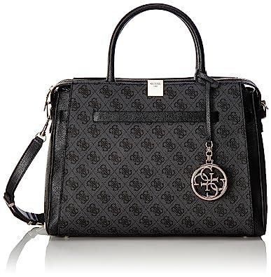 5f95d38fe GUESS Women's Christy Large Tote Bag, Coal: Handbags: Amazon.com