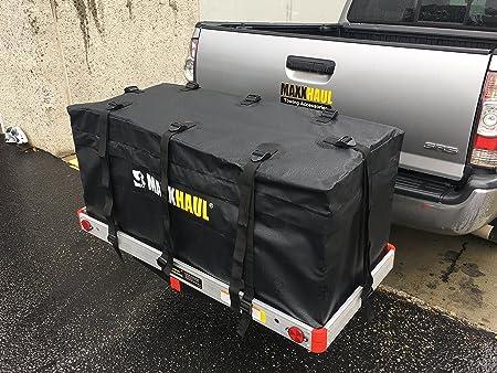 Maxxhaul 70209 Hitch Mount Water Resistant Cargo Carrier Bag 47 X 20 X 20 Auto
