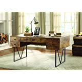 Coaster Home Furnishings Analiese Writing Desk - Antique Nutmeg