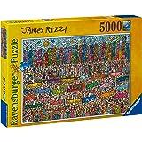 Ravensburger 5000 Parça Puzzle James Rizzi Şehir