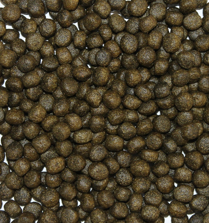 Wohnkult Top Premium Koifutter mit Spirulina in 3 mm und 6 mm 5 Liter und 10 Liter Oder als Mix Teich Koi Goldfisch St/ör