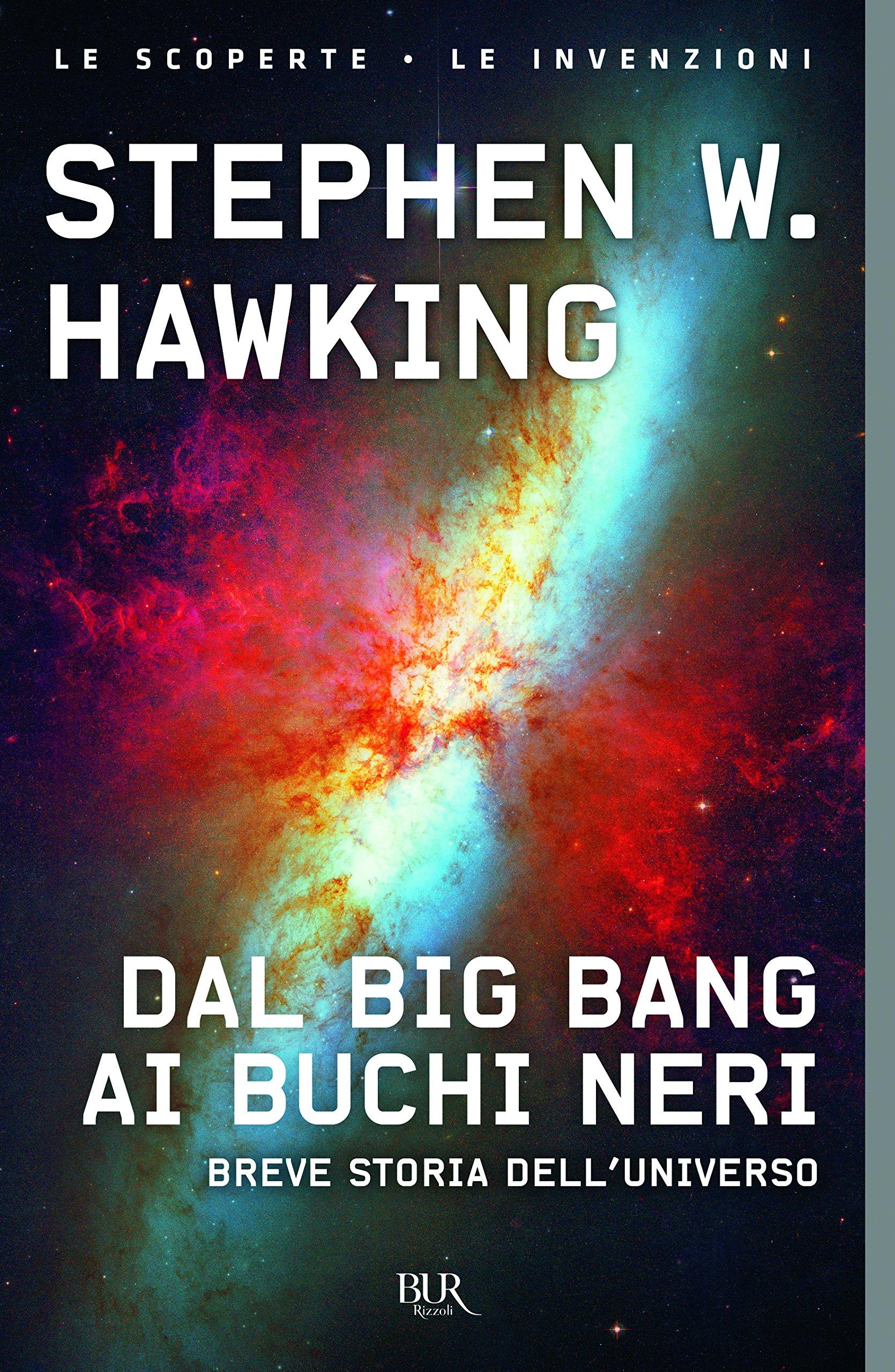 Copertina Libro Dal big bang ai buchi neri