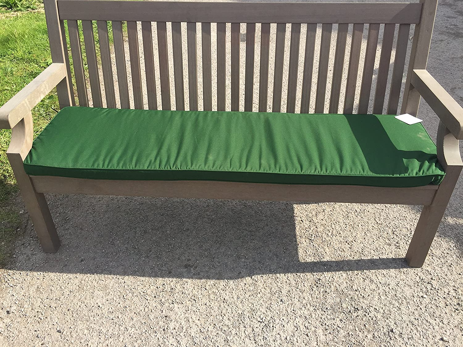 CUSHION Only - In Green - 3 Seater Bench Thicker Style - !SALE! Simply Wood