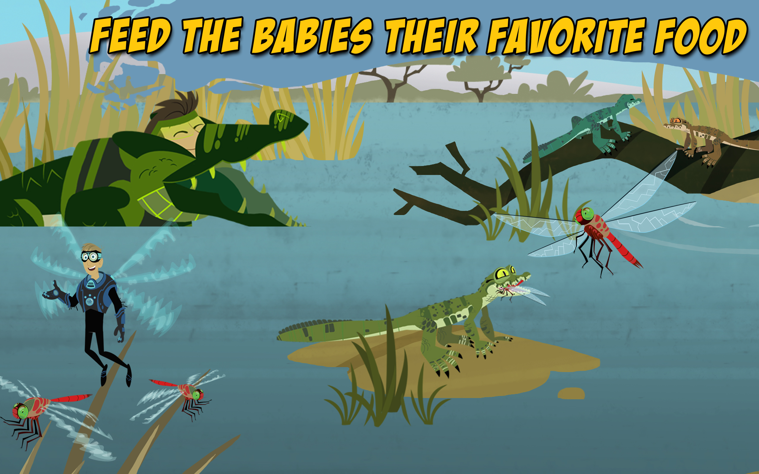 Wild Kratts Baby Buddies: Amazon.com.au: Appstore for Android