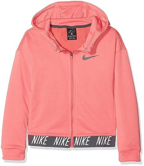 Nike 890280 Sweat Shirt à Capuche Fille: : Sports