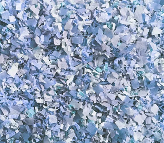 Amazoncom Cornflower Blue Confetti Mix Winter Wonderland Dusty