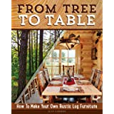 From Tree to Table: How to Make Your Own Rustic Log Furniture (Fox Chapel Publishing) Practical Woodworking Information…