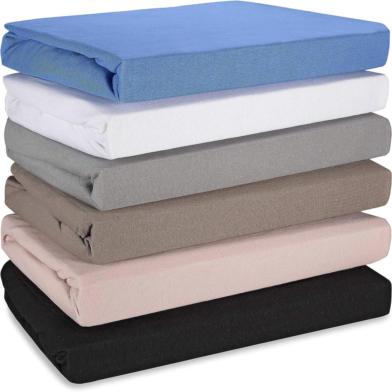 Hometex Premium Textiles Sábana Bajera Morada 140/160 x 200/220 cm sábana Bajera de Calidad hotelera 145 g/m2 ÖKO-Tex Standard - 100% algodón