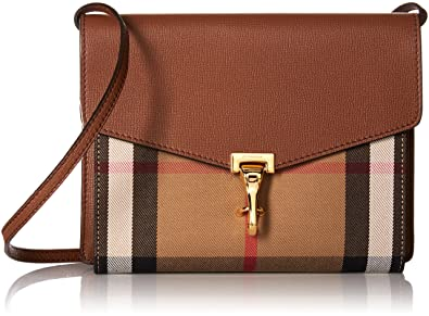9d71e28d3e7d Image Unavailable. Image not available for. Color  Burberry House Check  Crossbody Bag (Womens) - Brown ...