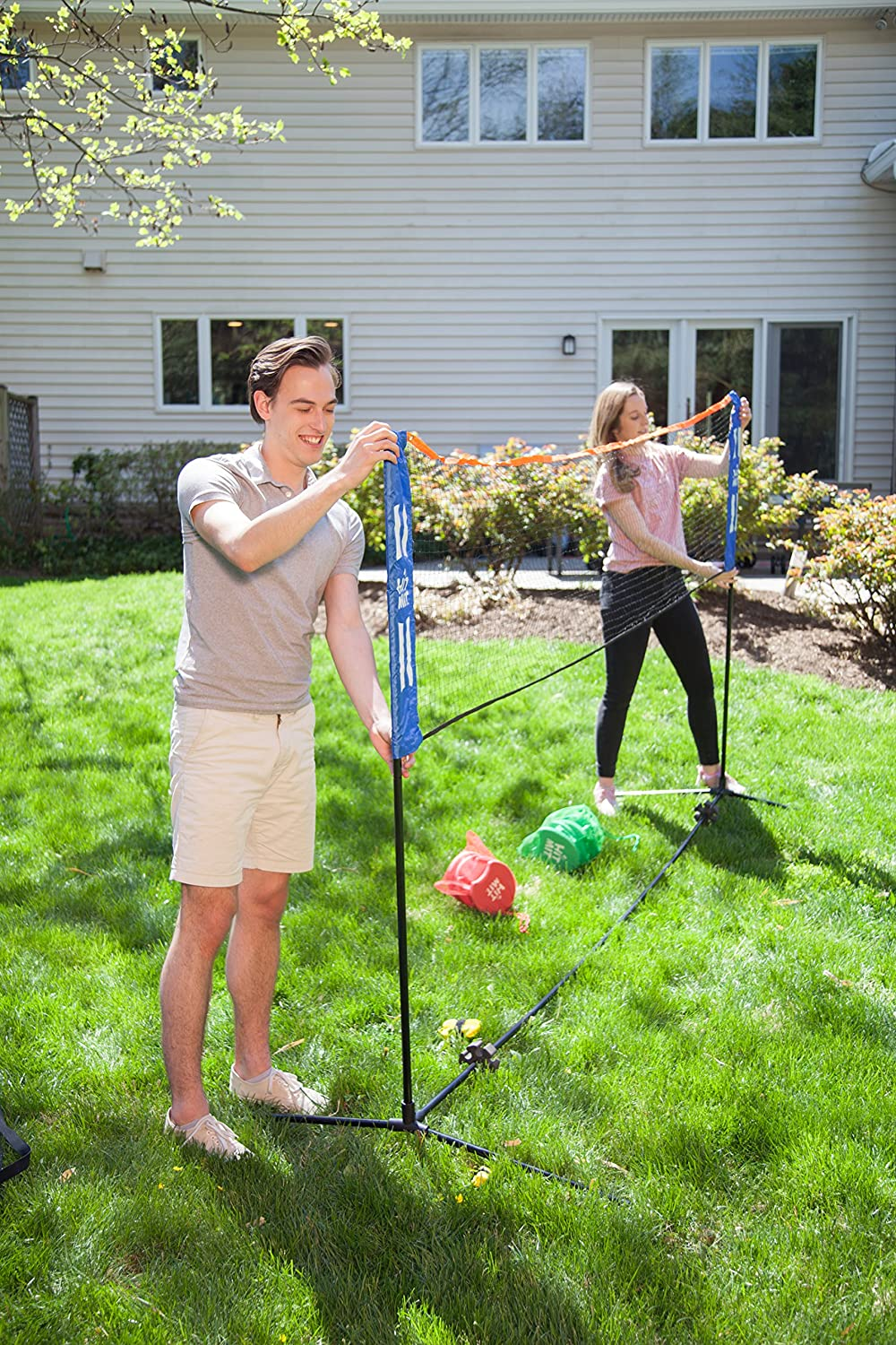 Amazon.com : Hit Mit Multi-Sport Adjustable Indoor/Outdoor Net Set on recreational backyard ideas, soccer backyard ideas, family backyard ideas, beach backyard ideas, outdoor backyard ideas, football backyard ideas, camping backyard ideas, golf backyard ideas, fencing backyard ideas, paintball backyard ideas, home backyard ideas, pool backyard ideas, southern living backyard ideas, sports backyard ideas, playground backyard ideas,