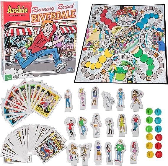 Outset Media El Curso de Riverdale Torre Juego Archie Comics ser más astuto Que tu oponente y ser el Primero en Llegar a Pop Shoppe Choclit Tate Edad 7 +.: Amazon.es: Juguetes