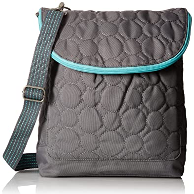 Thirty One Vary You Backpack Purse - Grey Quilted Dots: Handbags ...