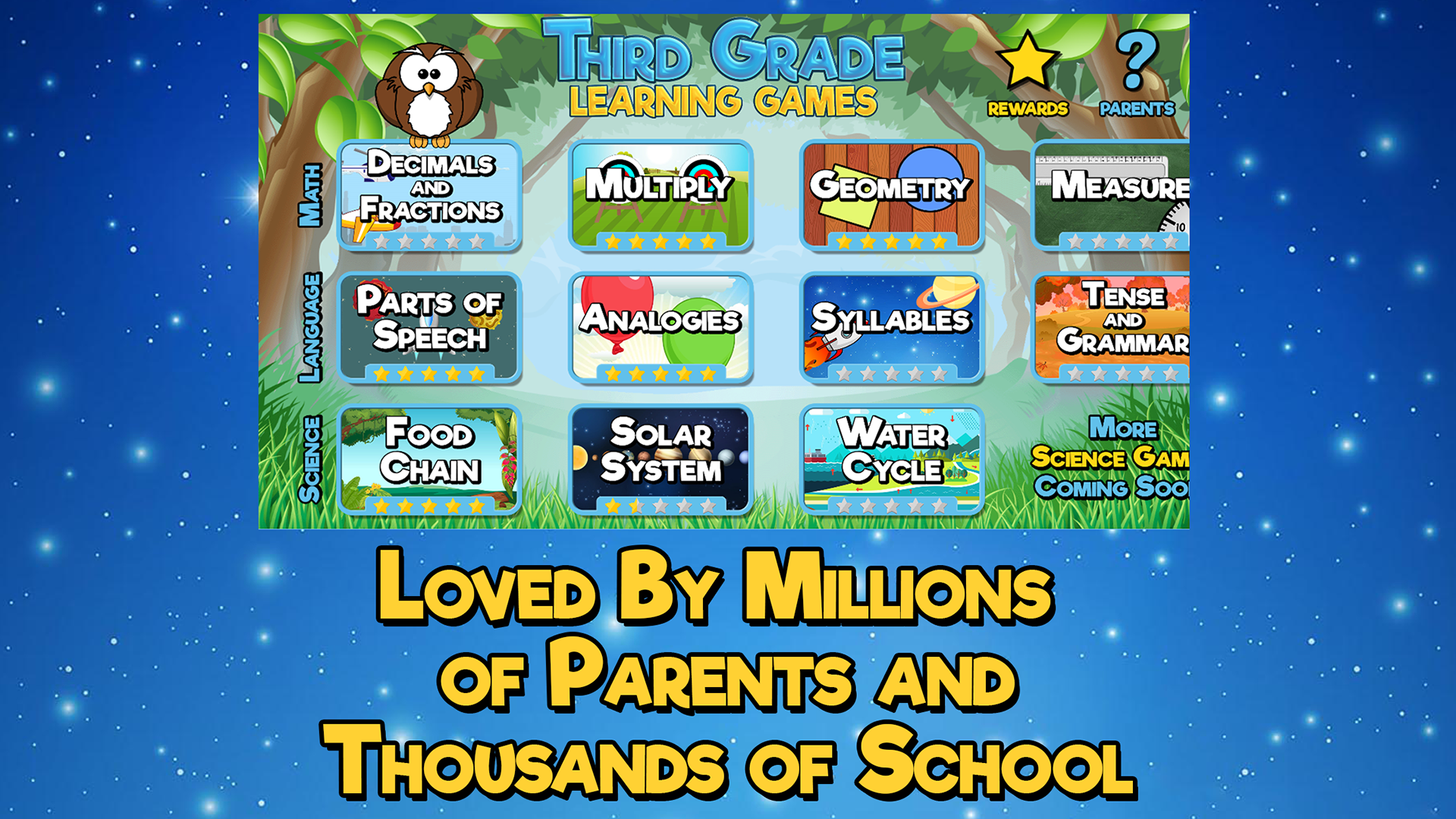 Amazon.com: Third Grade Learning Games Free: Appstore for