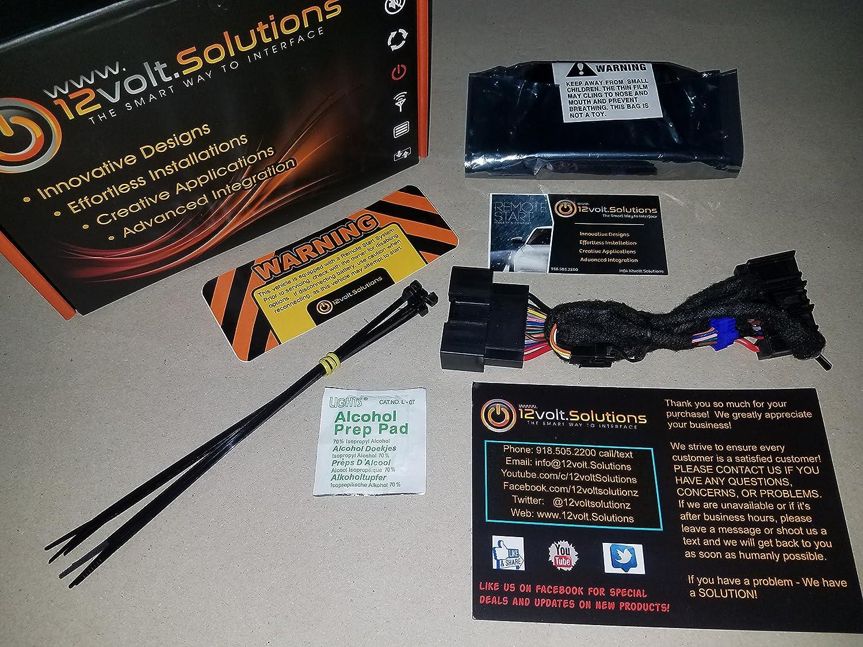 Amazon.com: Plug & Play Remote Start Kit Ford F-150 Fusion Edge Explorer  2014 2015 2016 2017 2018: Car Electronics