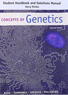 concepts of genetics 11th edition online