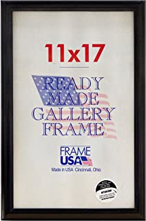 product image for Frame USA 11x17 Deluxe Polystyrene Plastic Poster Frames (Black) | Multiple Colors Available