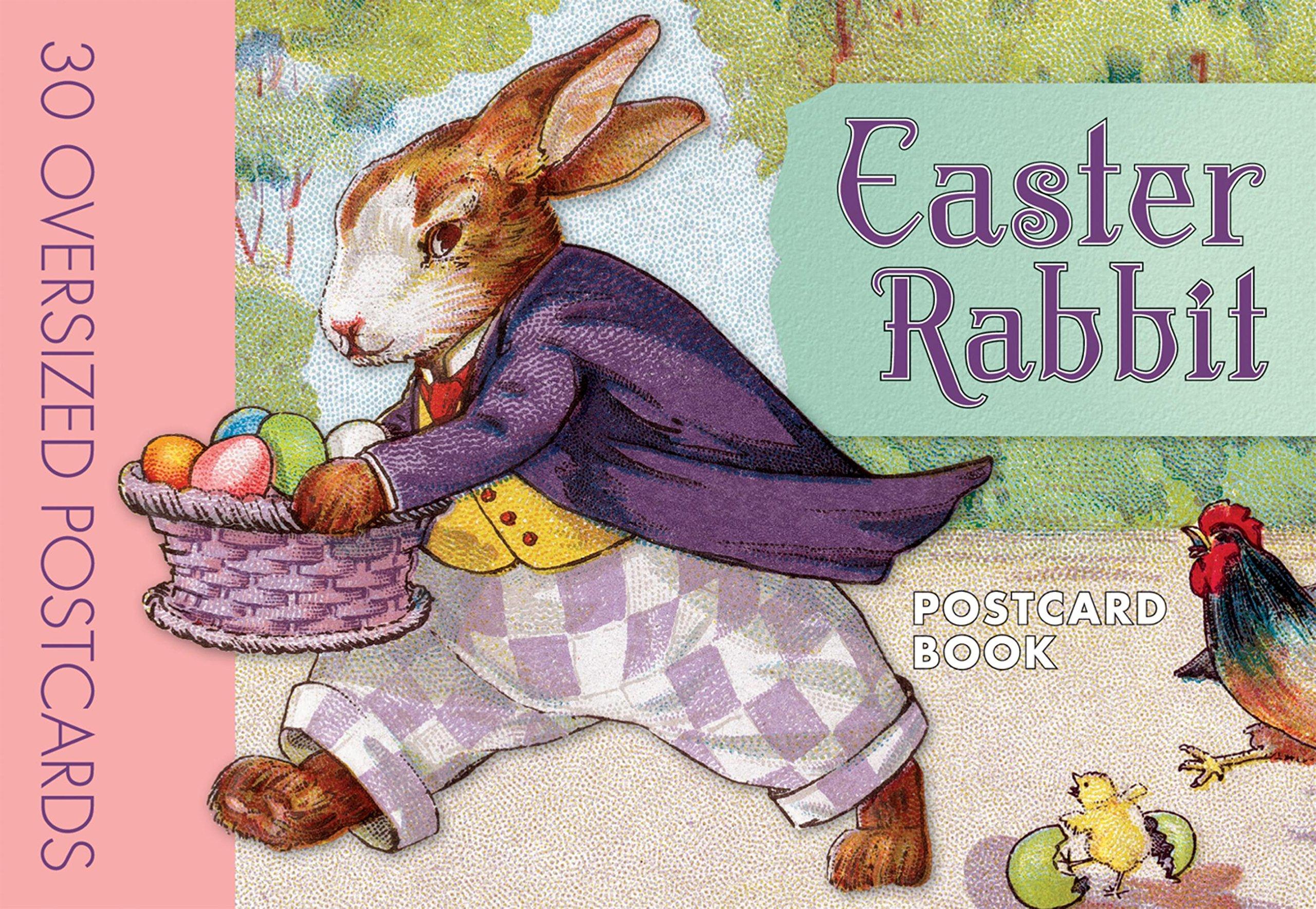 Easter Rabbit Postcard Book Laughing Elephant Publishing