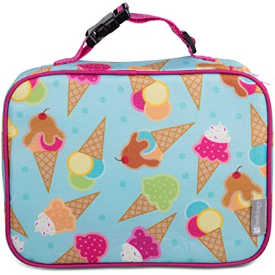 Bentology Lunch Box for Girls - Kids Insulated Lunchbox Tote Bag Fits Bento Boxes- Ice Cream: Kitchen & Dining