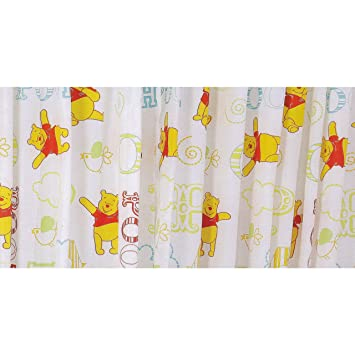 Childrens/Kids Disney Winnie The Pooh Curtains Set (66 x 54 inch ...