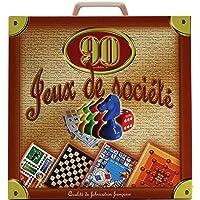 Ferriot Cric SA Jeu de société - Mallette 90 Jeux