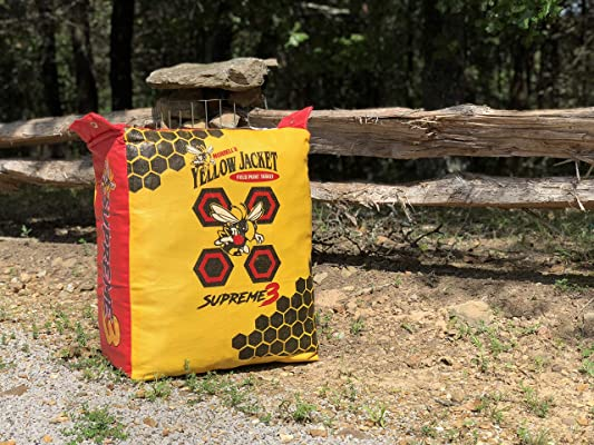 Morrell Yellow Jacket Supreme 3 Field Point Bag Archery Target Size:1-(Pack)