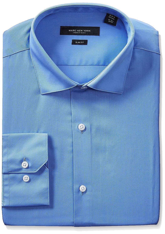 Marc New York Mens Slim Fit Solid Dress Shirt At Amazon Mens