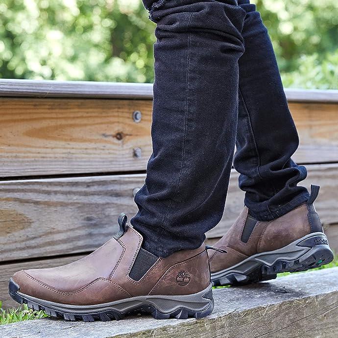 Timberland 添柏岚 Mt. Maddsen 一脚套 抗疲劳男式徒步鞋 6.8折$64.95 海淘转运到手约¥539 中亚Prime会员免运费直邮到手约¥500