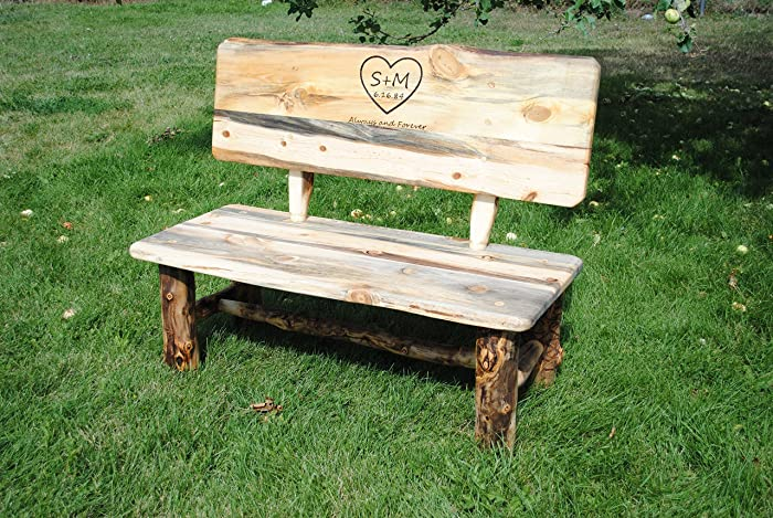 Wondrous Amazon Com Wedding Bench Handmade Ibusinesslaw Wood Chair Design Ideas Ibusinesslaworg