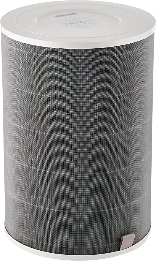 Xiaomi HEPA Filter for Air Purifier, Eliminates 99.97% Particles Small As 0.3 Micro, Compatible with Mi Air Purifier 2H, 3H, PRO, Grey One Size