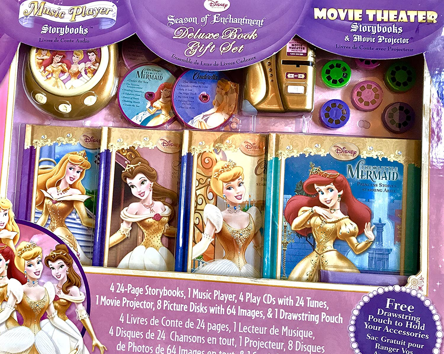 Disney Princess - Set de regalo de temporada de enchantmet Delux ...